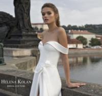 הלנה קולן מעצבת שמלות כלה