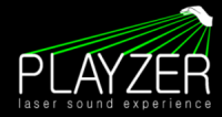playzer  - מנגנים מוסיקה  LIVE על קרני לייזר