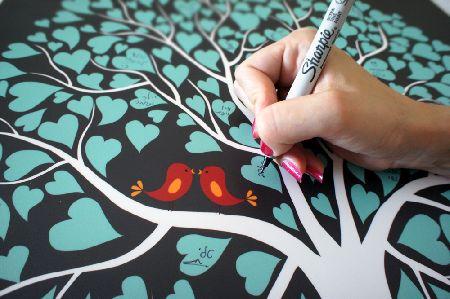 My Event Tree - ספרי אורחים מעוצבים