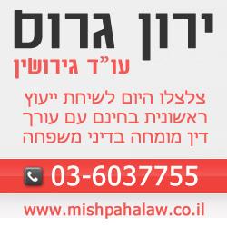 עורך דין גירושין - ירון גרוס