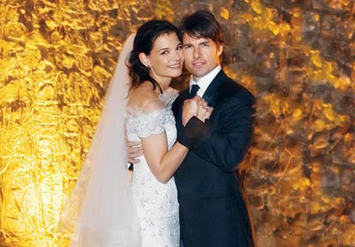 טום קרוז וקייט הולמס – התחתנו ב 18.11.06