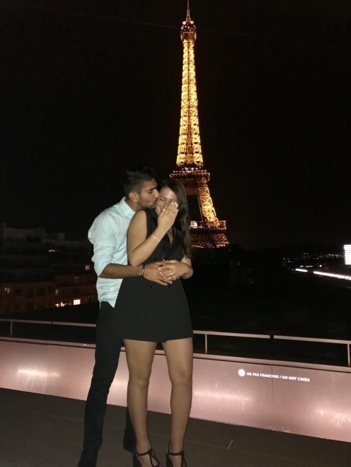 בר ודוד בפריז, רגע אחרי ההצעה