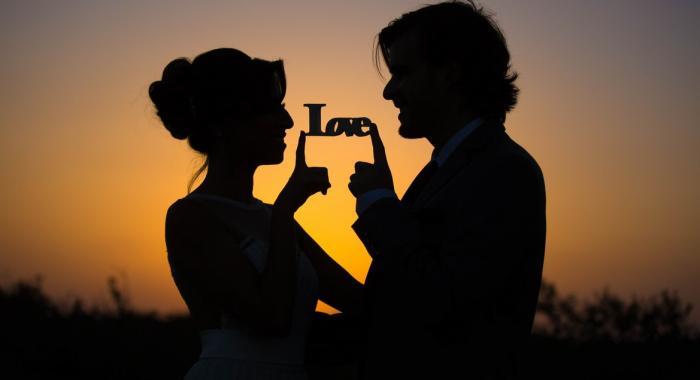 שקיעה רומנטית