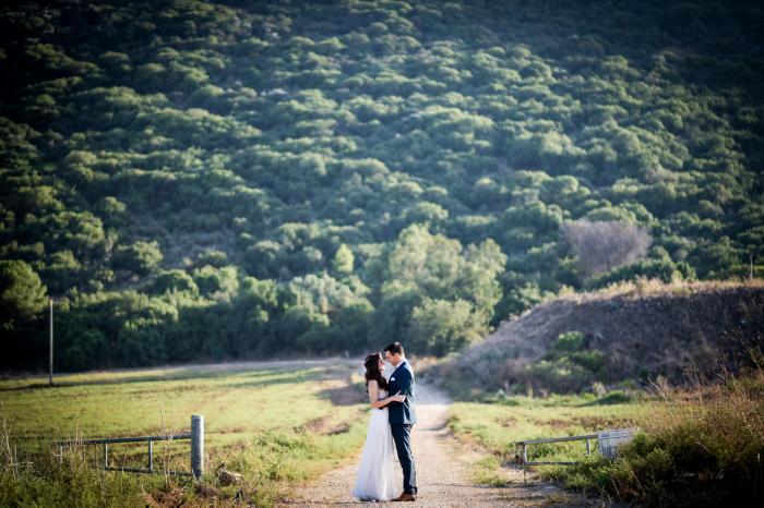 צילומים ביום החתונה