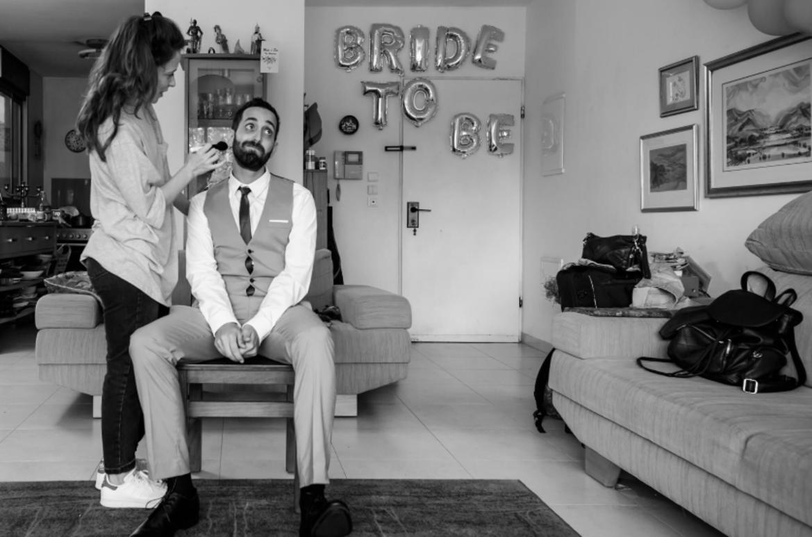 גילוח זקן לחתונה