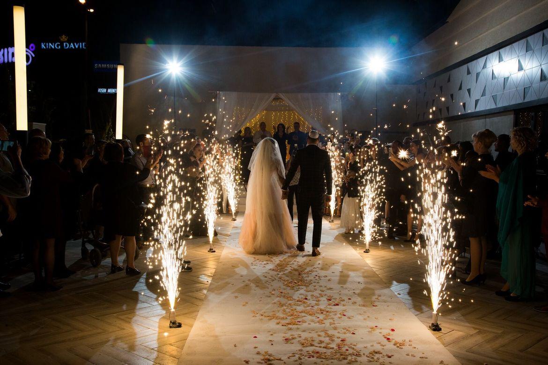 חופה באירוע חתונה - מתחם האירועים AMORE