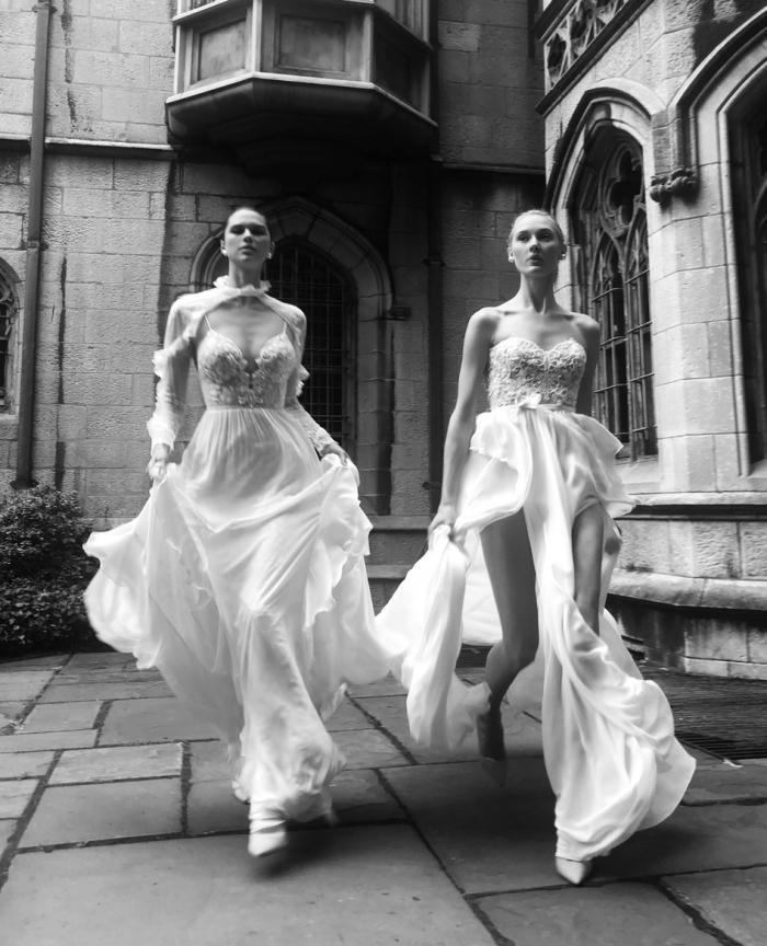 שמלות TIFFANY & FLORETTE - ניתן להשיג בלעדית בסטודיו העיצוב של אלון ליבנה בנווה צדק