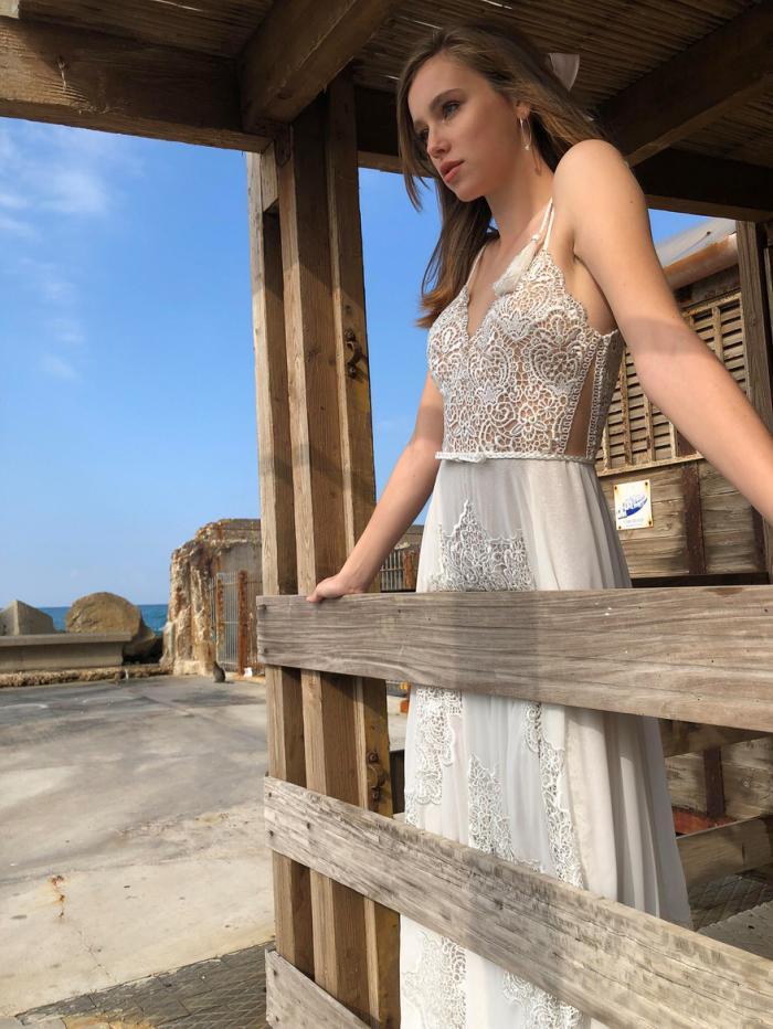 שמלת בוהו-גלאם
