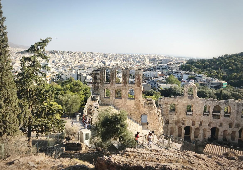 יוון: שילוב של נופים, אוכל ותרבות