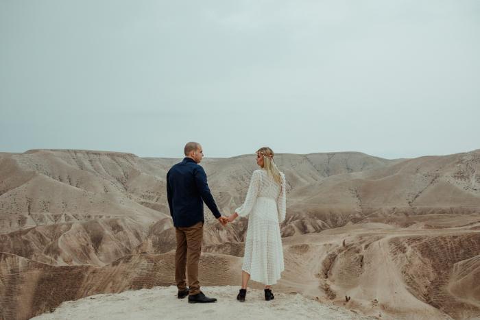 צילומי זוגיות במדבר יהודה (