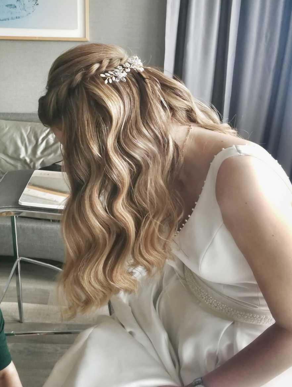 עיצוב שיער לחתונה