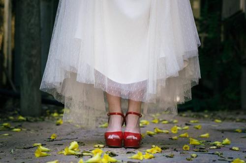 נעלי כלה צבעוניות - הכל מאחורי הצבעים