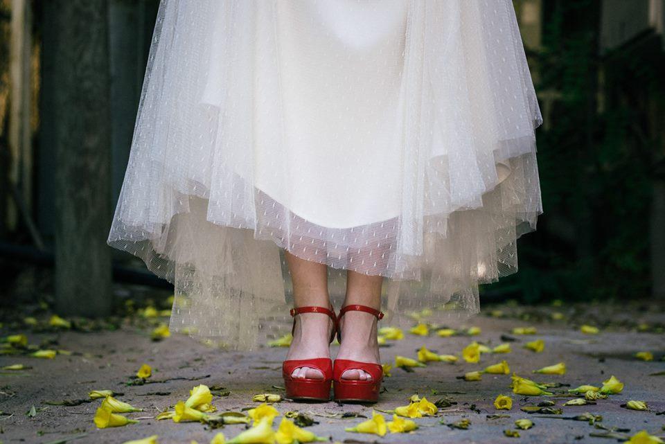 נעלי כלה צבעוניות