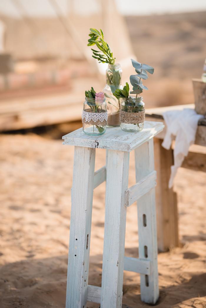 הפקה וניהול אירועים - החתונה הטבעונית (במדבר) של מאיה וגיא