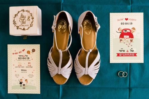 ללכת על שטוח: בחירת נעלי כלה שטוחות