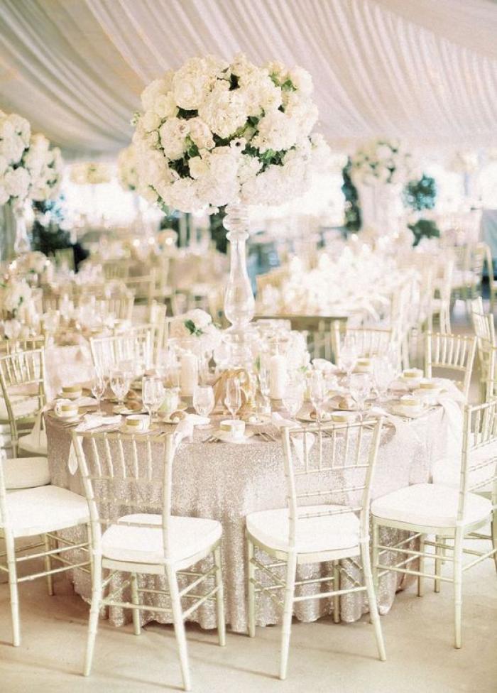 עיצוב אירועים - לבן זוהר ועל זמני - כל ההשראה לחתונה בלבן