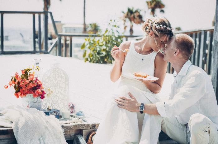 חתונה בלבן - קונספט על זמני מנצח