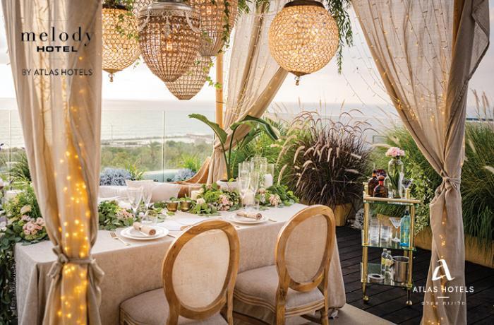 בתי מלון לאירועים - נוף פנורמי והמון סטייל - חתונות בוטיק ברשת מלונות אטלס