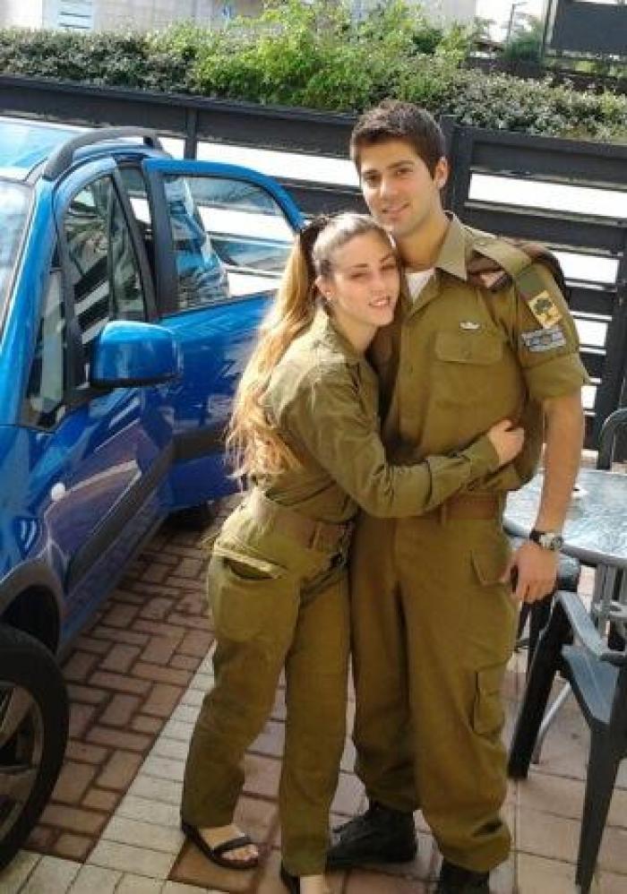 הילה ותומר בימי הצבא