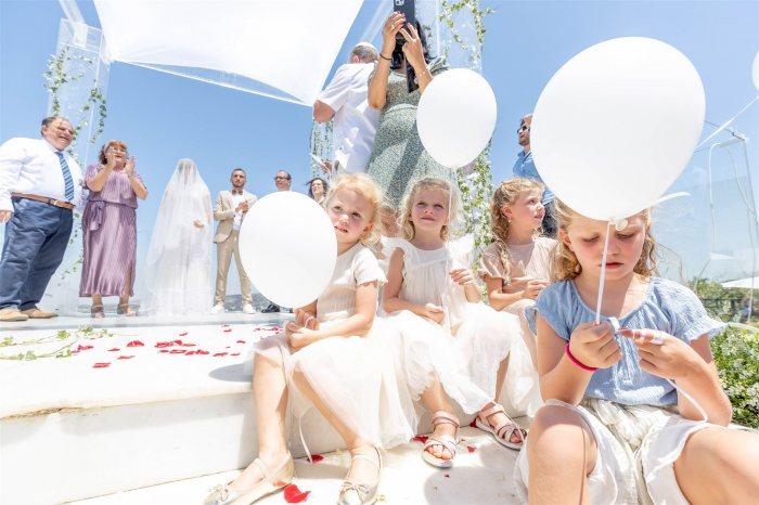 הפקה וניהול אירועים - שושבינות קטנות: כך תדאגו היטב לשושבינות הצעירות בחתונה שלכם